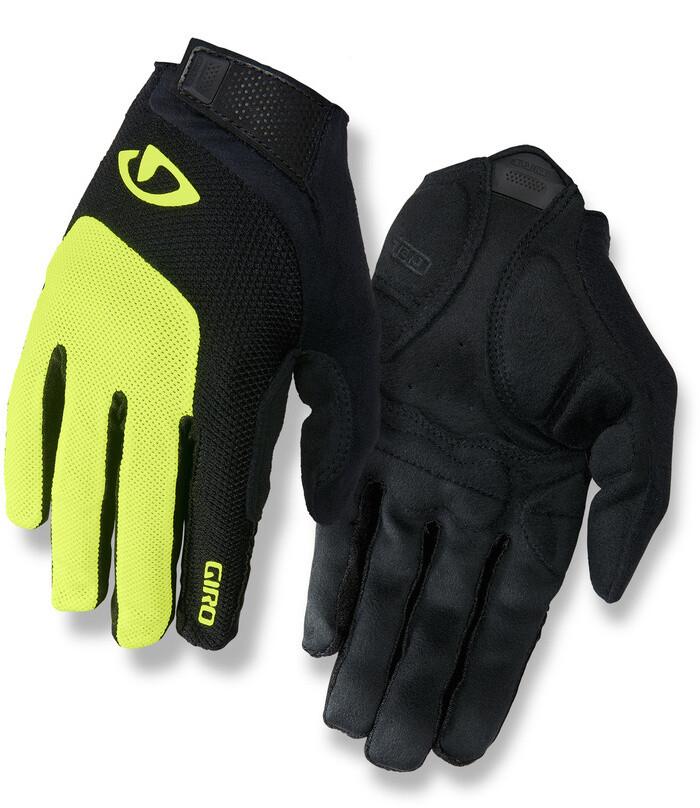 Giro Handschuhe BRAVO GEL LF BL//HI YEL